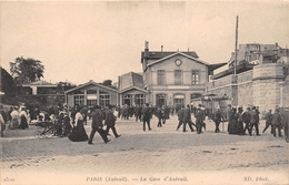 ¤¤  -   PARIS   -  La Gare D'AUTEUIL  -  Chemin De Fer   -  ¤¤ - Arrondissement: 16