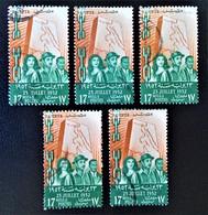 ROYAUME - COUP D'ETAT DU 23 JUILLET 1952 - OBLITERES - YT 309 - MI 393 - Egypt