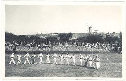 Cpa Carte-photo George, Arles - Fontvieille, Farandole  ( Inauguration Du Moulin De Daudet 1/7/1935 )   ( S. 2809 ) - Fontvieille
