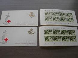 BELG.1963 1267A ** & 1267B ** Postzeglboekjes Voorrang NL & Prédominance FR - Carnet 1953-....