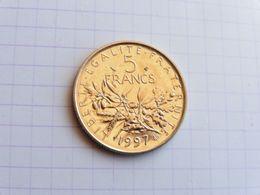 1997 5 Francs  Semeuse Bu - France