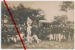 PostCard - Original Foto - Munster Truppenübungsplatz Munsterlager - 1908 - Soldaten Reservisten 4. Bataillon - Munster