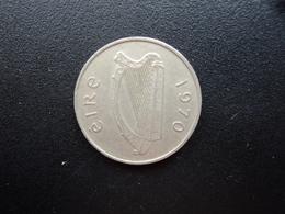 IRLANDE : 5 PENCE  1970   KM 22    TTB - Ireland