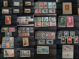France - Pièces Choisies - Timbres Neufs ** Dont Séries Célébrités Et Autres Belles Valeurs - Cote + 830 - Stamps