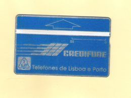 """PHONECARD - PORTUGAL """"CREDIFONE AZUL"""" 50U - 910G - LP3g - LOW ISSUE - NEW/NOT USED - Portugal"""