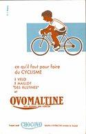 Buvard   OVOMALTINE  Qui Donne Des Forces - Sports