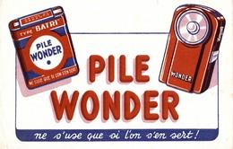 Buvard  PILE WONDER - Accumulators