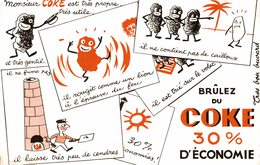 Buvard  BRULEZ DU COKE - Blotters