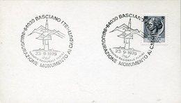 34122 Italia,annullo Speciale 1979 Basciano Teramo Inaug. Monumento Caduti Raduno Reg.alpini - Militaria