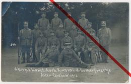 PostCard - Original Foto - Altengrabow Dörnitz Möckern - 1915 - Landsturm Ausbildungs-Kursus - Deutschland