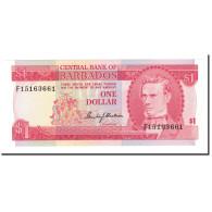 Billet, Barbados, 1 Dollar, 1973, KM:29a, NEUF - Barbades