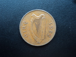IRLANDE : 2 PENCE  1982  KM 21   SUP - Ireland