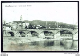 BUSALLA ( Genova ) BUSALLA SUPERIORE E PONTE SULLO SCRIVIA - Viaggiata 1920 - Italia