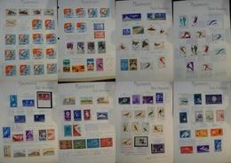 ROUMANIE - Collection De Timbres Pour La Poste Aérienne (1958/68) - Neufs * - Cote + 250 - Stamps
