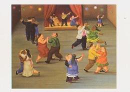 Peinture   H253          Salle De Danse ( Dinard 2002, Botero ) - Peintures & Tableaux