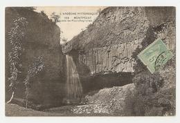 07 Montpézat, Cascade De Pourcheyrolles (2580) L300 - France