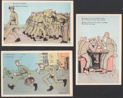 Militaria Humoristique - Lot De 7 Cartes - Humour