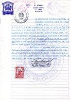 Bolivia 1965 $b0.50 Papel S. Tipo H&A PS77. Serie G. Tipo H&A AA40 (5000=5$b) - Bolivia