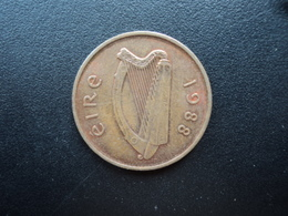 IRLANDE : 2 PENCE  1988  KM 21   SUP - Ireland