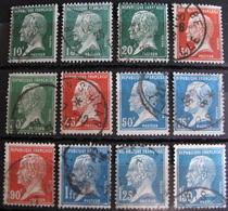 R1752/386 - 1923 - TYPE PASTEUR (SERIE COMPLETE) - N°170 à 181 - Cote : 23,00 € - France