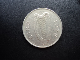 IRLANDE : 10 PENCE  1975   KM 23    SUP / TTB+ - Irlande