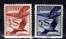 Autriche Poste Aérienne YT N° 29/30 Neufs ** MNH. B/TB. A Saisir! - Airmail