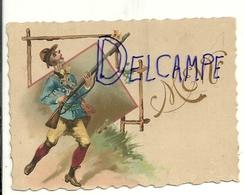 """Carte De """"placement"""". Menu. Chasseur. 7,5/10,5 Cm - Menus"""