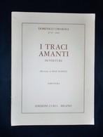 Musica Spartiti - Domenico Cimarosa - I Traci Amanti - Ouverture - Partitura - Old Paper