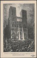 François-Nicolas Chifflart - Les Truands Assiégeant Notre-Dame, Paris, C.1910 - Bouchetal CPA - Paintings