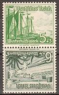 Deutsches Reich MiNr. Zd SK 32 ** Winterhilfswerk 1937, Schiffe - Deutschland