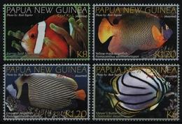 Papua-Neuguinea 2012 - Mi-Nr. 1757-1760 ** - MNH - Fische / Fish - Papouasie-Nouvelle-Guinée