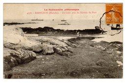 CPA Normandie Pittoresque Barfleur 50 Manche Un Coin Près De L'entrée Du Port éditeur Le Goubey N°4078 - Barfleur