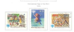 Chile PO 1979/86 Anno Del Bambino    Scott.553/555+ Used See Scan On Scott. Page - Chile