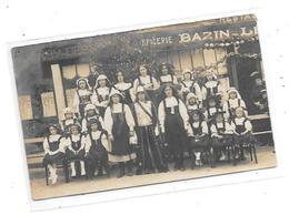 Carte Photo EPICERIE BAZIN, à Localiser - Cartes Postales