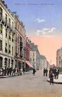CPA  Luxembourg, ESCH - SUR - ALZETTE, Rue De La Poste, 1934 - Esch-Alzette