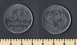 Brazil 50 Cruzeiros 1984 - Brasil