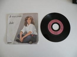 Julie Pietri - Le Veux Croire / Je Reviendrai (1982) - Carrère - Disco, Pop