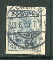 ALLEMAGNE- Timbre Provenant D'un Entier Postal- Oblitéré - Postwaardestukken