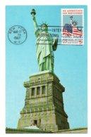 Carte Maximum 136, USA Etats-Unis 1967 Statue Of Liberty De La Liberté - Maximumkarten (MC)
