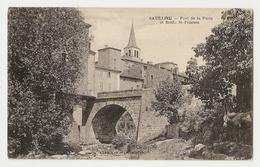 07 Satillieu, Pont De La Poste Et Route Saint Félicien. Carte Inédite (2596) L300 - Francia
