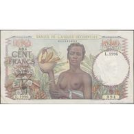 TWN - FRENCH WEST AFRICA 40 - 100 Francs 22.4.1947 L.1996 - 894 AXF - Other - Africa