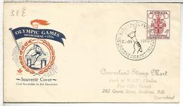 AUTRALIA MAT AEROPUERTO JUEGOS OLIMPICOS MELBOURNE ANTORCHA TORCH - Sommer 1956: Melbourne