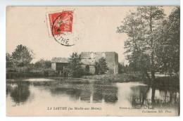 20729  CPA  LA SARTHE  Au Moulin Aux Moines  ! 1916 ! ACHAT DIRECT !! - Frankrijk