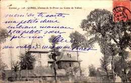 CPA - CORREZE - Gimel - Château De St Priest (au Comté De Vallon) - Autres Communes