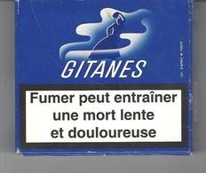 Paquet De Cigarettes GITANES Ancien Avec 11 Cigarettes . - Cigarettes - Accessoires