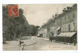 20775   CPA  SAINT DIE  : Le Quai Du Parc   !  1911 , ACHAT DIRECT !! - Saint Die