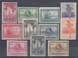 ESPAÑA 1929 TANGER Nº 37/47 - Marruecos Español