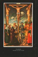 Kreuzigung (nach Einem Gemälde Von Lukas Cranach) / Druck, Entnommen Aus Zeitschrift /1942 - Pacchi