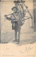 [DC11845] CPA - SPAGNA ESPAGNA - EL AFILADOR  - FIRMATA - PERFETTA - Viaggiata - Old Postcard - Mestieri