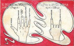 [DC11855] CPA - HUMOR - LE DELIZIE DEL MATRIMONIO - PERFETTA - Non Viaggiata - Old Postcard - Humor